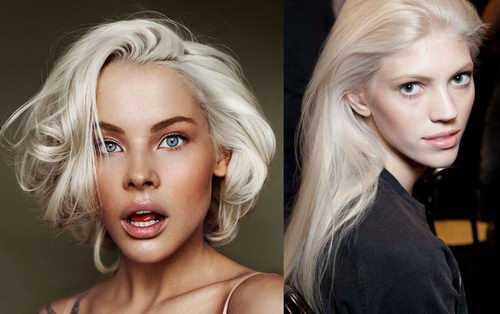 7eb886ee966 В этом году платиновая блондинка – это очень популярный цвет волос. Поэтому  попытка изменить свой образ может быть очень даже удачной!